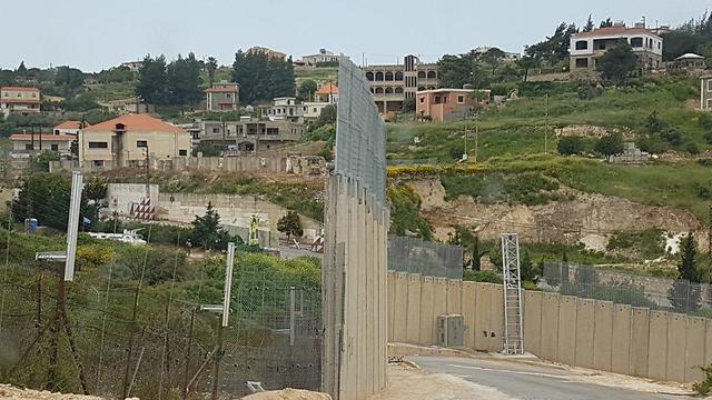 The Israel-Lebanon border (Photo: IDF spokesman)