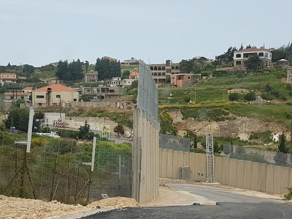 The land border between Israel and Lebanon (Photo: IDF Spokesperson's Unit)