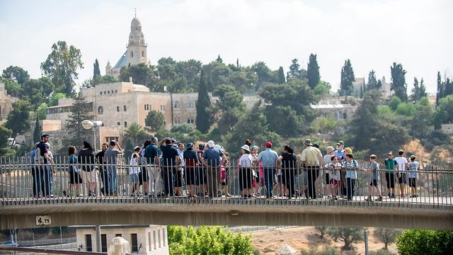 מרכז בגין, יום ירושלים (צילום: משה כהן)