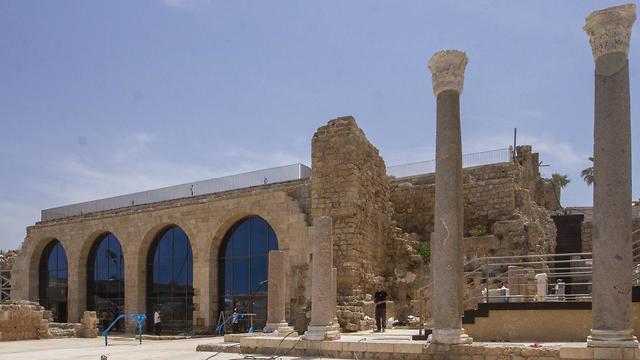 Восстановленный арочный комплекс.Фото: Идо Эрез