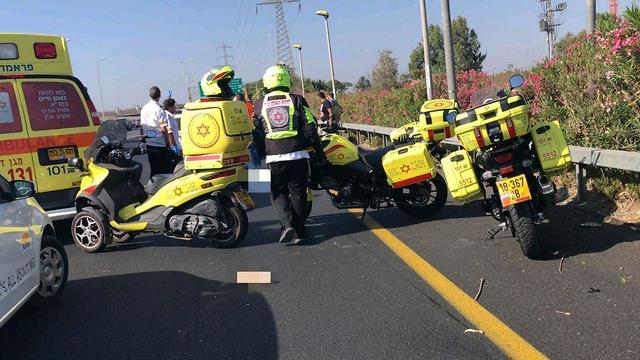 На месте тяжелой аварии. Фото: МАДА