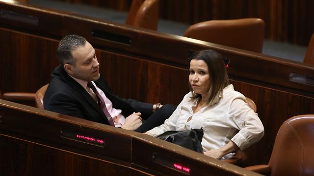Shelli Yachimovich and Miki Zohar