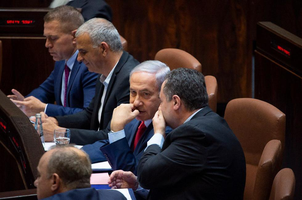 Prime Minister Netanyahu during vote for new elections after April 2019 vote failed to give him a mjority (Photo: Yoav Dudkevitch)  (Photo: Yoav Dudkevitch)