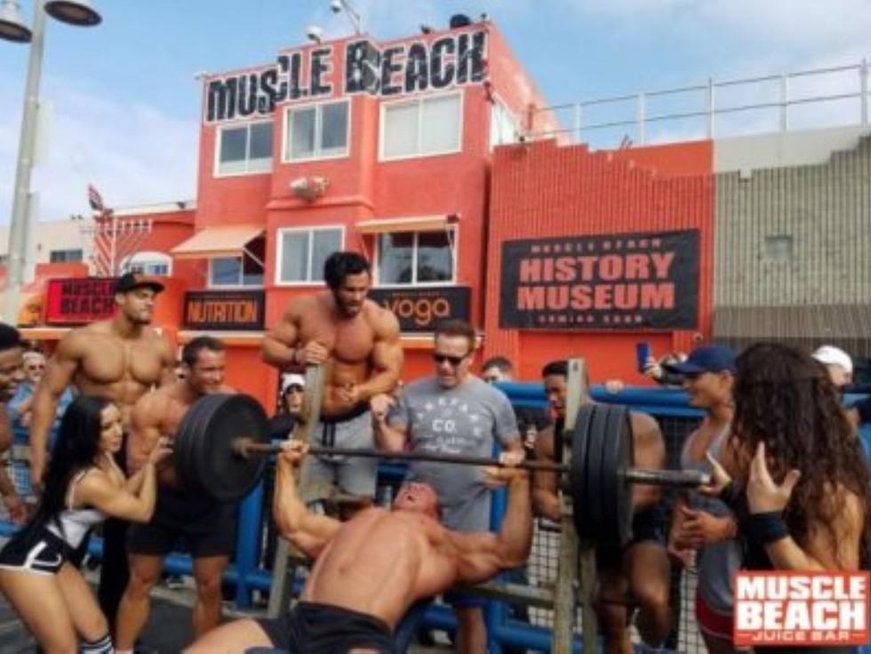 כושר (צילום: muscle beach juice)