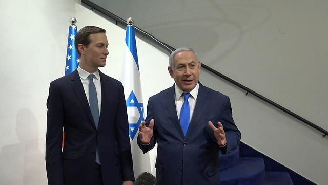 Jared Kushner rencontre le Premier ministre Netanyahu (Photo: Ambassade des États-Unis à Jérusalem)