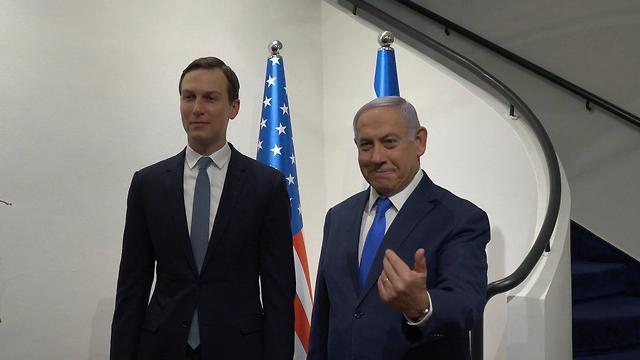 White House advisor Jared Kushner and Prime Minister Benjamin Netanyahu in Jerusalem, May 2019 (Photo: US Embassy)