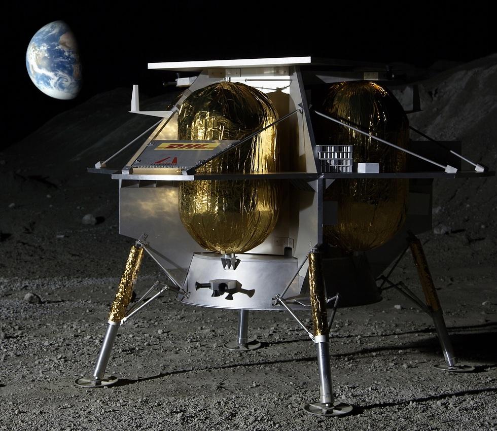 החללית של Astrobotic (צילום: Astrobotic)