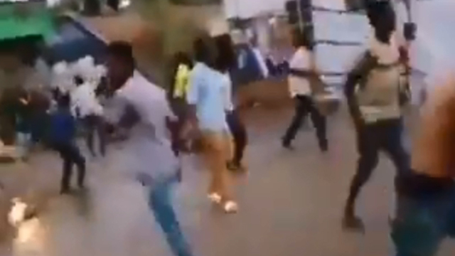 סודן התנגשויות חרטום צבא מפגינים חודשיים אחרי הפיכה ()