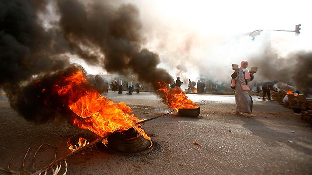 סודן התנגשויות חרטום צבא מפגינים חודשיים אחרי הפיכה (צילום: AFP)