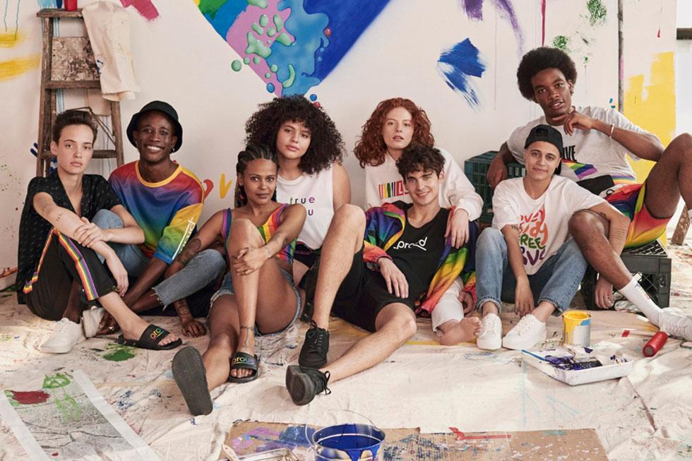 """יעבירו 10 אחוז משווי כל מכירה לקמפיין Free & Equal של האו""""ם. H&M (צילום: הנס מוריץ)"""