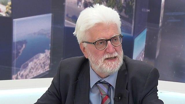 Moisis Elisaf, the newly elected mayor of Ioannina