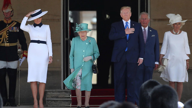 The Royal family meets with Donald and Melania Trump (Photo: Reuters)