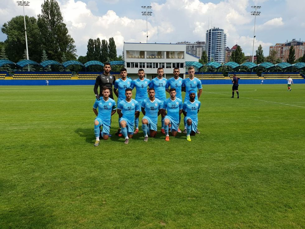 הנבחרת הצעירה (צילום: ההתאחדות לכדורגל)