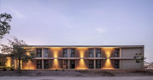 קמפוס ''הביתה'', בתכנון תים אדריכלים (צילום: יואב פלד)