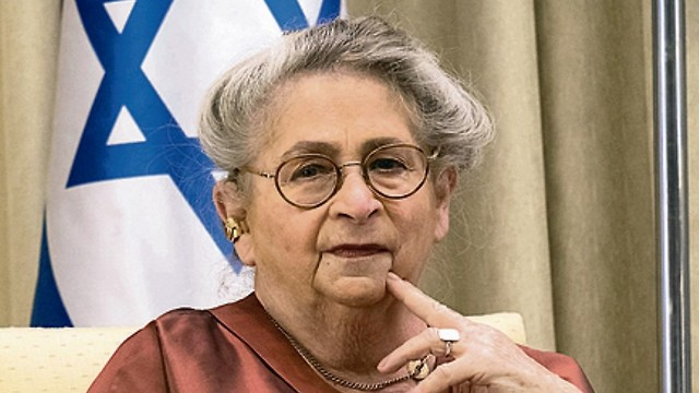 Nechama Rivlin  (Photo: Yoav Dudkevitch)