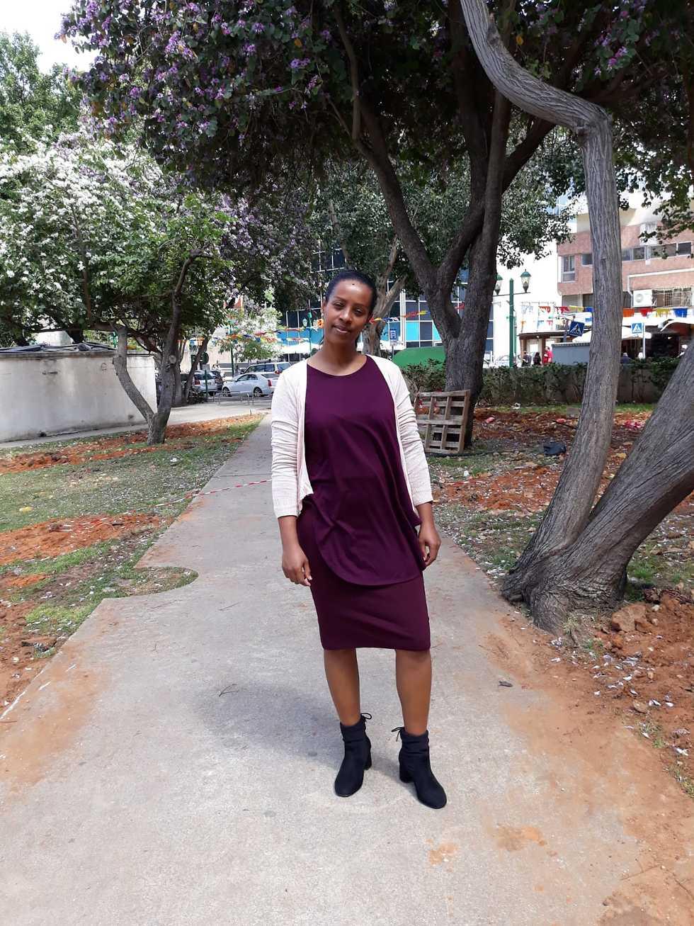 טובה וורקנך - שורדת המסע מאתיופיה לישראל (צילום: ליאם וורקנך )