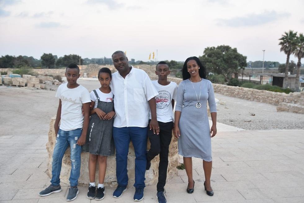 טובה וורקנך - שורדת המסע מאתיופיה לישראל (צילום: מסגנאו ג'מבר)