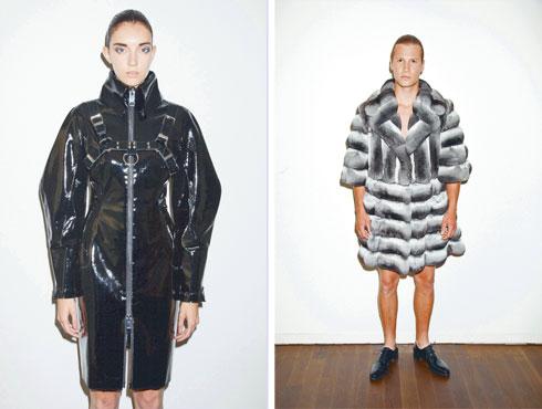 """פריטים מהקולקציה שעיצב לבית האופנה האוסטרי LISKA , שזיכתה אותו בפרס מ""""ווג"""" (צילום: סטודיו מיור)"""