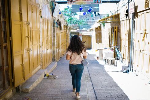 בעיר העתיקה של חברון (צילום: קרן רוזנברג)