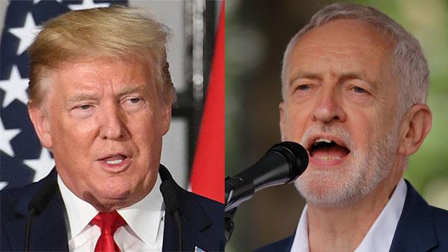 Corbyn; Trump
