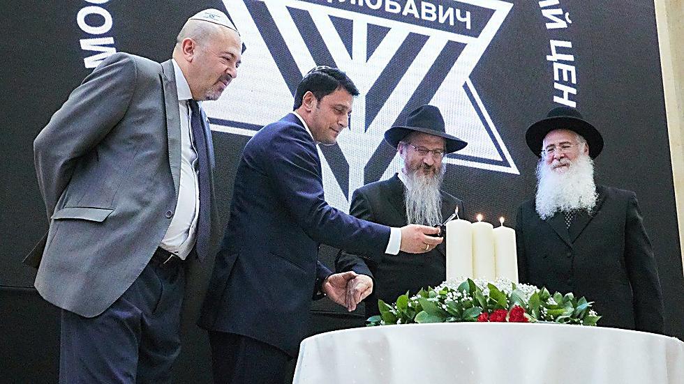 האזכרה ברוסיה (צילום: איליה דולגופולסקי ולוי נזארוב)