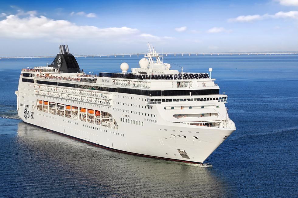 ספינת אופרה של חברת MSC (צילום: shutterstock)
