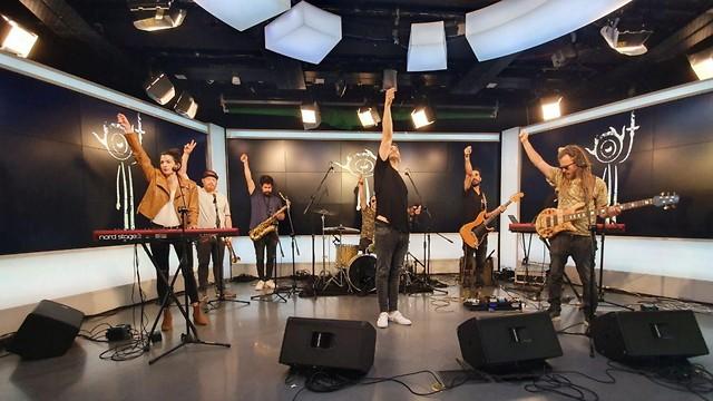 התקווה 6 באולפן ynet (צילום: רז גרוס)