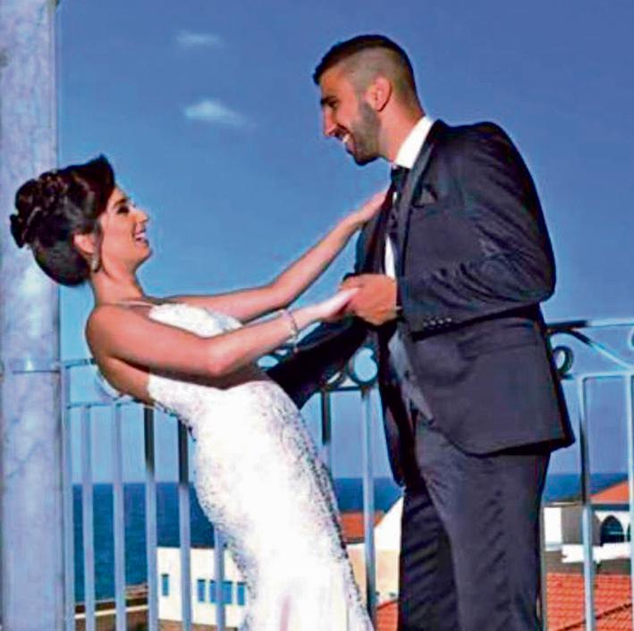 מואנס ופאתן בחגיגות האירוסים