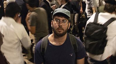 ירמי שיק בלום במירון (צלם: גיל נחושתן)