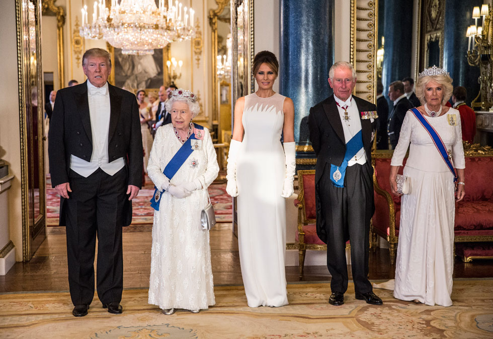 כשהבית הלבן הגיע לארמון: בגדי ביקור משפחת טראמפ בבריטניה. לחצו על התמונה לכתבה המלאה (צילום: Jeff Gilbert /GettyimagesIL)