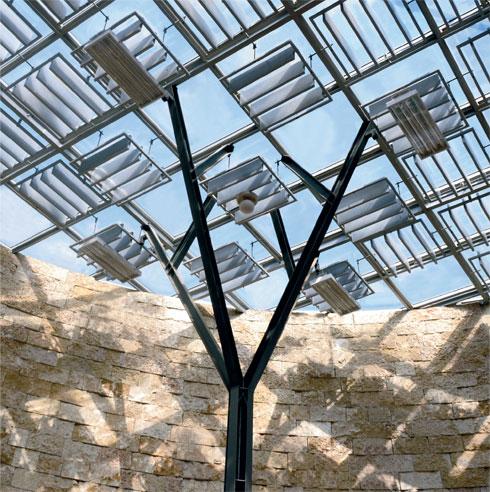 ובפנים. היום גג הזכוכית מלוכלך ועכור. ''רכבת ישראל לא מצטיינת בתחזוקה'', אומר ארמון (צילום: אוריאל מסה)
