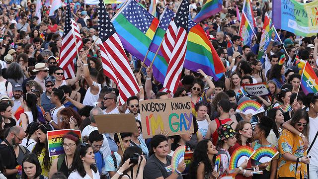 18th annual Jerusalem's Gay Pride Parade (Photo: EPA)