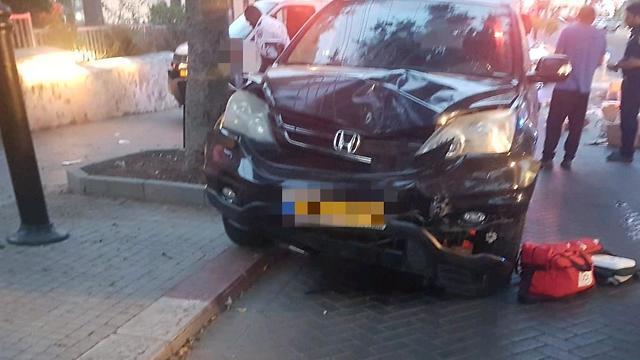 הולך רגל נהרג מפגיעת רכב ברחובות (צילום: דוברות מד