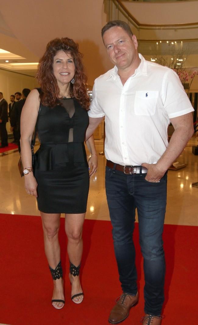 בקרוב אצלכם? ג'ודי מוזס ובן הזוג אבי רוטנברג (צילום: ענת מוסברג)