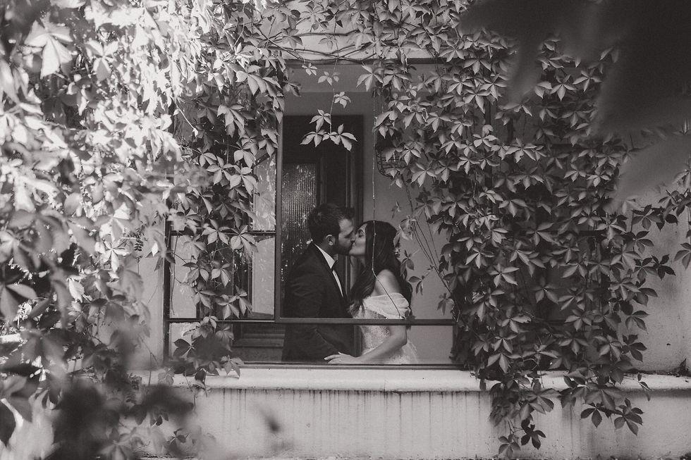 תמונה של הזוג שרון ודורון (צילום: שי פרנקו)