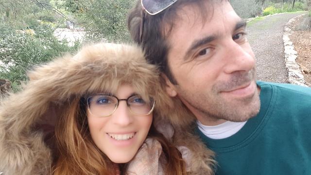 תמונה של שני ואסף (צילום: אוסף משפחתי)