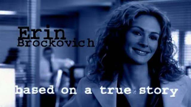 ג'וליה רוברטס בסרט ארין ברוקוביץ' (צילום: מתוך הסרט)