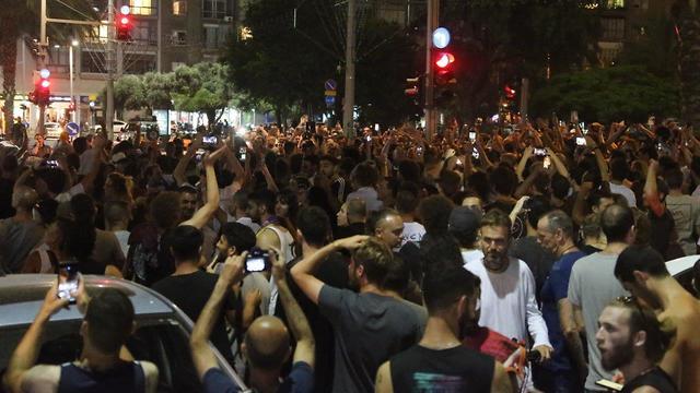 מחאה ועימותים בתל אביב בעקבות ביטול פסטיבל