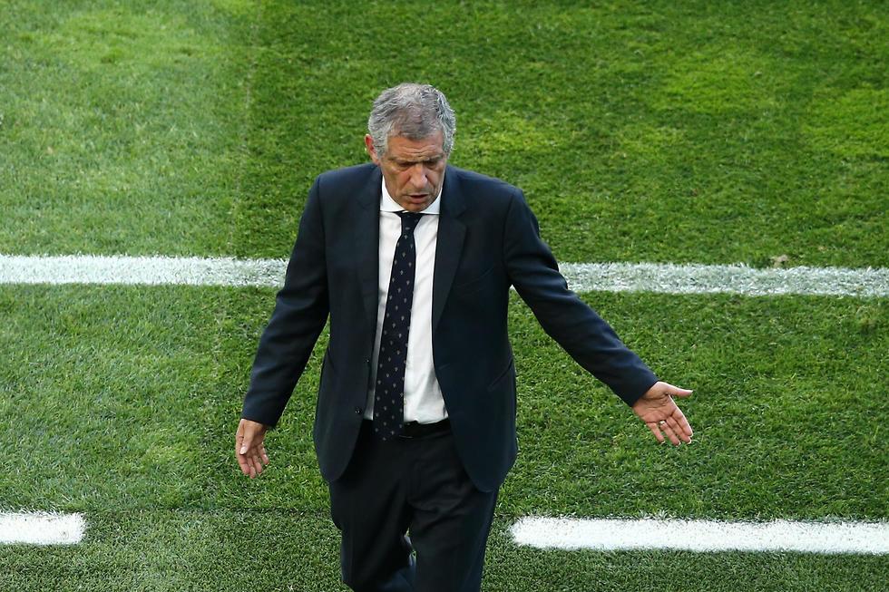 מאמן פורטוגל פרננדו סנטוס (צילום: getty images)