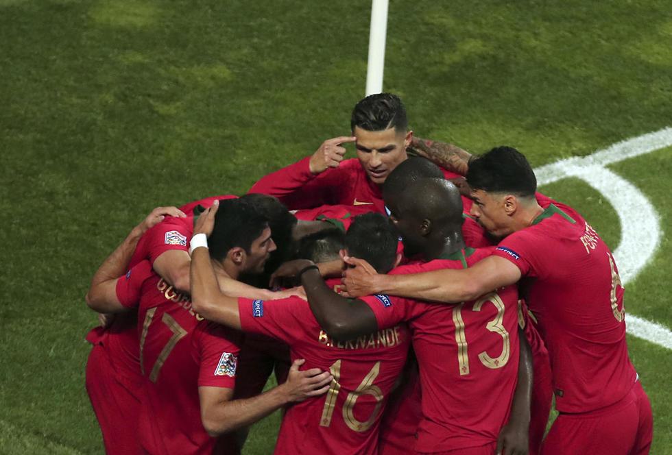 פורטוגל חוגגת (צילום: AP)