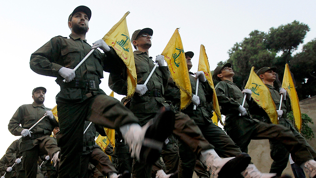 Combattants du Hezbollah (Photo: AP)