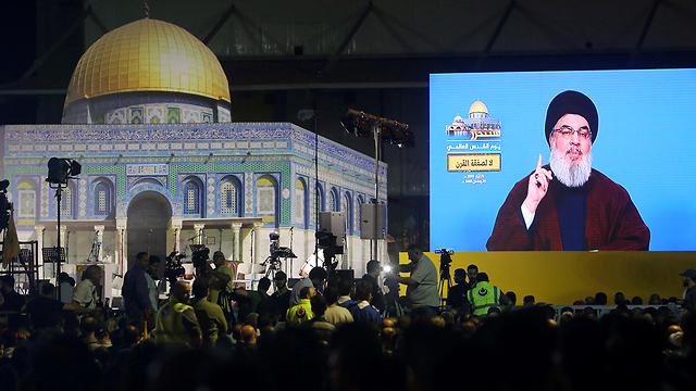 Intervention de Nasrallah début juin 2019 (Photo: Reuters)