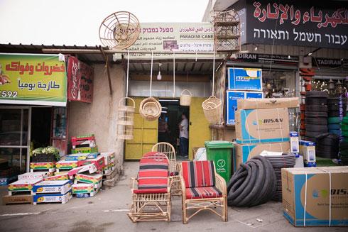 סדנת הבמבוק של זיאד דאבה באל-עזריה (צילום: קרן רוזנברג)