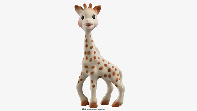 Жирафа-массажер для прорезывания зубов