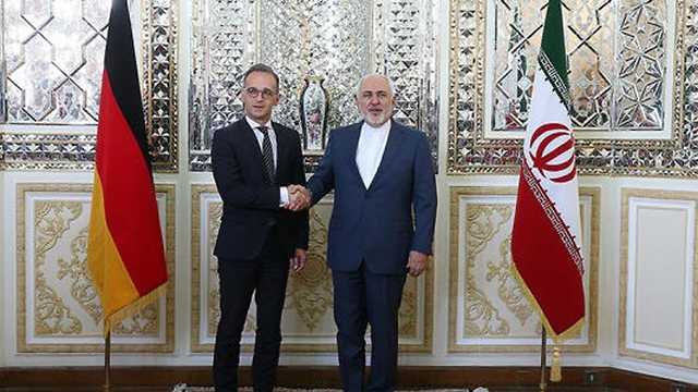 German Foreign Minister Heiko Maas meeting with his Iranian counterpart Mohammad Jarif in Tehran last month (Photo: Reuters)