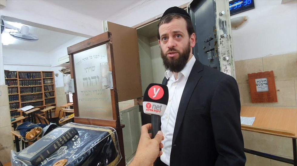 משה כהן, גבאי בית הכנסת