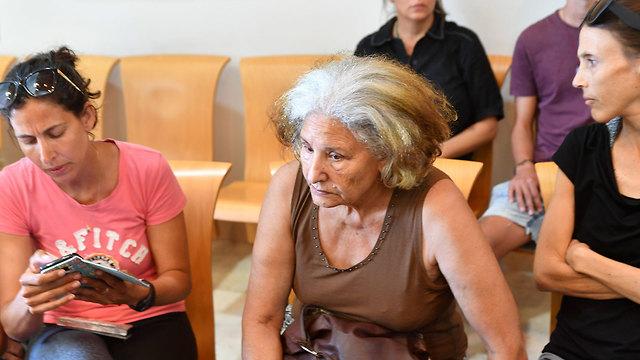אמא של אחד ההרוגים בתאונה, יריב עטר (צילום: חיים הורנשטיין)