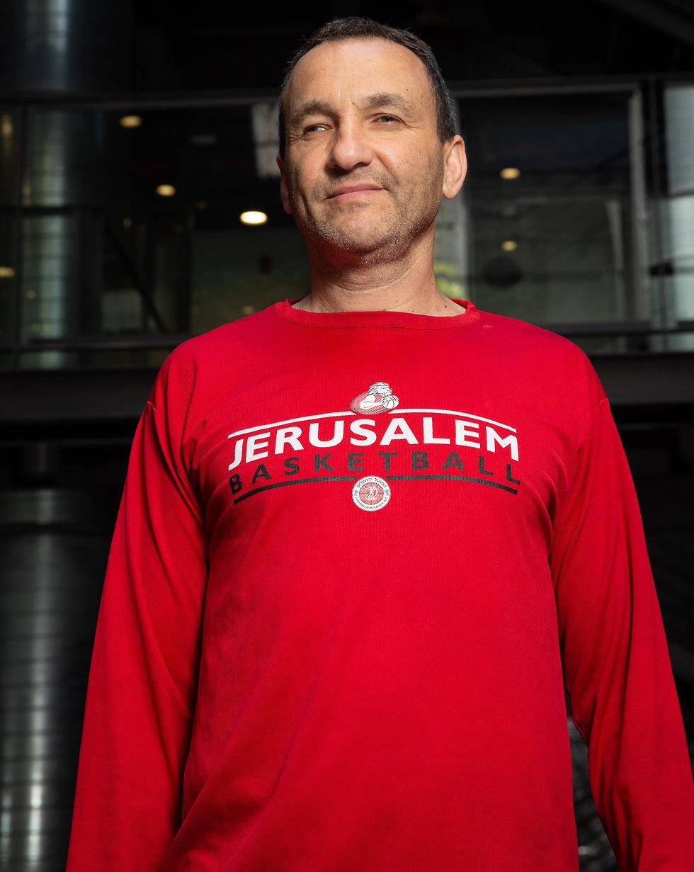 אייל חומסקי, בעלי הפועל ירושלים (צילום: עוז מועלם)