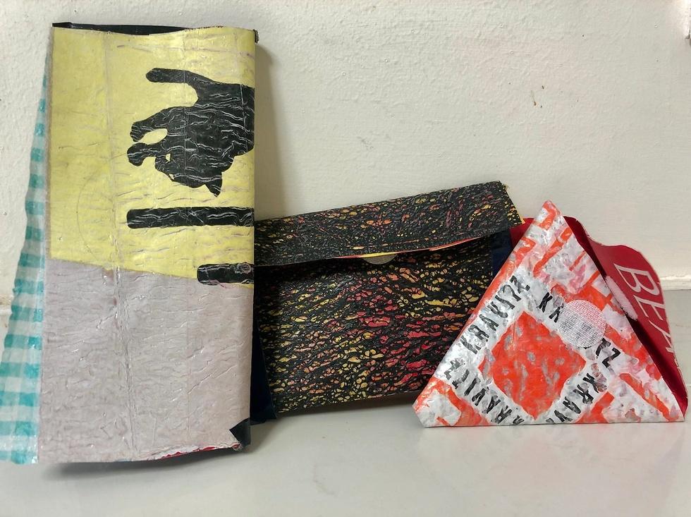 שקיות ניילון ממוחזרות  (צילום:תאיר נחום)