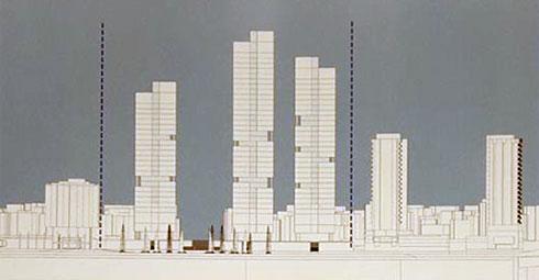 אופציה של 3 מגדלים. הוולחו''ף כבר הודיעה כי תתנגד לכך (תרשים: מתוך mavat.moin.gov.il)